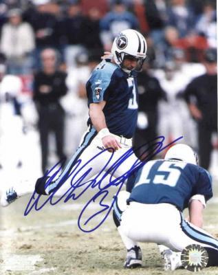 Al Del Greco autographed Tennessee Titans 8x10 photo
