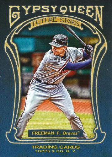 2011 Topps Gypsy Queen Future Stars #FS4 ~ Freddie Freeman