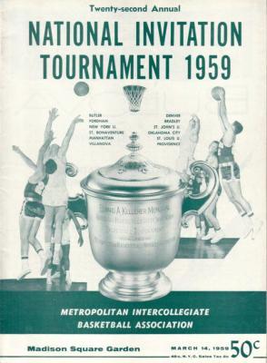 1959 NIT college basketball program (Lenny Wilkens)
