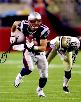 Julian Edelman autographed New England Patriots 8x10 photo