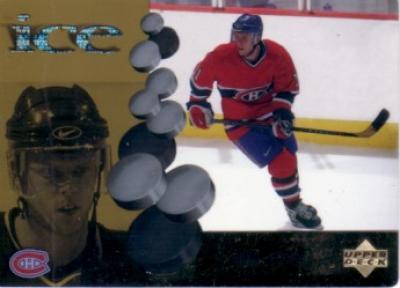 Saku Koivu Canadiens 1998-99 McDonald's Upper Deck Ice card #McD4