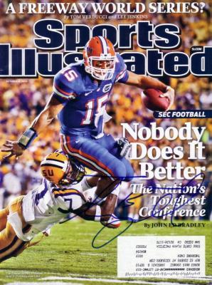 Tim Tebow autographed Florida Gators 2009 Sports Illustrated