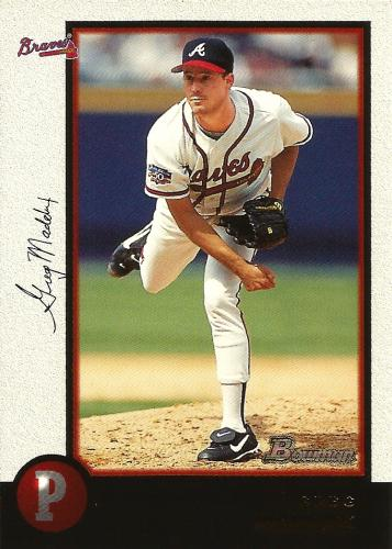 1998 Bowman #16 ~ Greg Maddux