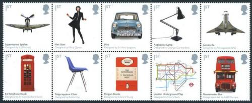 British design 10v [++++]