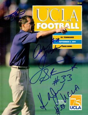 1994 Tennessee at UCLA autographed program (Todd Helton James Stewart)