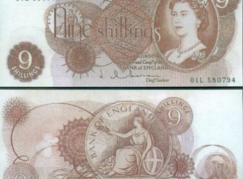 Great Britain - 9 Shillings-fantasy