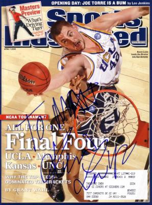 Kevin Love autographed UCLA 2008 Final Four Sports Illustrated (to Matt)