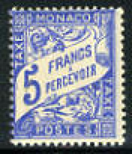 Postage due 1v; Year: 1943