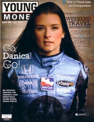 Danica Patrick 2007 Young Money magazine