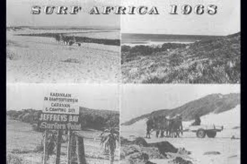 Surf Africa Postcard 1968
