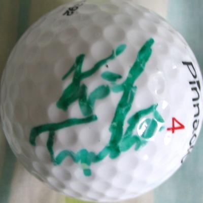 Kirk Triplett autographed golf ball