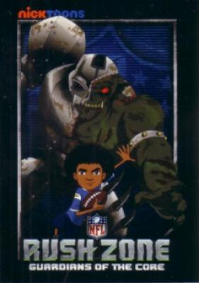 NFL Rush Zone Nick Toons 2010 Comic-Con promo card
