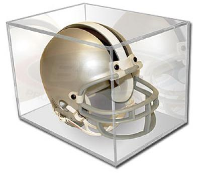 Mini helmet display case holder (BallQube)