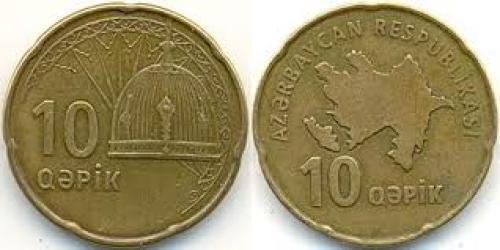 Coins; 10 Qəpik Azerbaijan (1991 - )