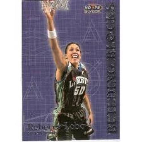Basketball Card; 1999 Hoops WNBA Building Blocks 2 Rebecca Lobo
