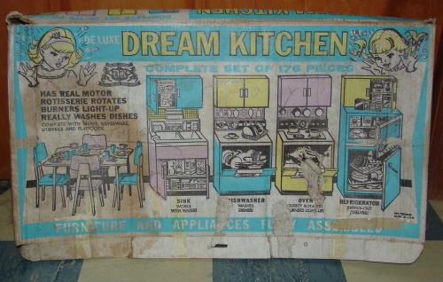 1960s Deluxe Reading Dream Kitchen in Box