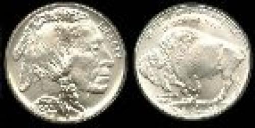 1 dollar; Year: 2001; American Buffalo