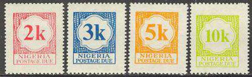 Postage Due 4v; Year: 1973