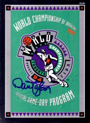 Dan Majerle autographed Dream Team 2 1994 World Championship of Basketball program