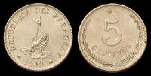 5 centavos 1900-1903 (km 6)