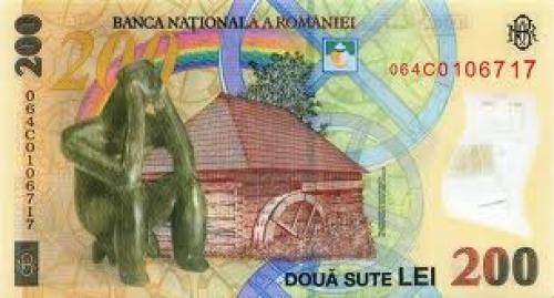 Banknotes; Romania New‑ 200Lei ; Year: ‑2006