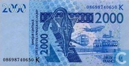 West Afr Stat. 2000 Francs