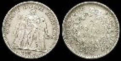 5 francs; Year: 1848-1849; (km 756)