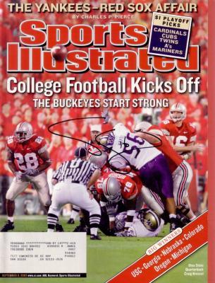 Craig Krenzel autographed Ohio State 2003 Sports Illustrated