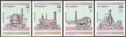 Locomotives 4v; Year: 1998