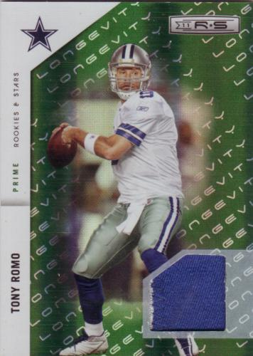 2011 R&S PRIME PATCH TONY ROMO DALLAS COWBOYS #/99