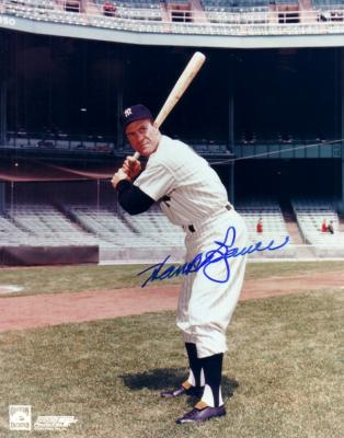 Hank Bauer autographed 8x10 New York Yankees photo