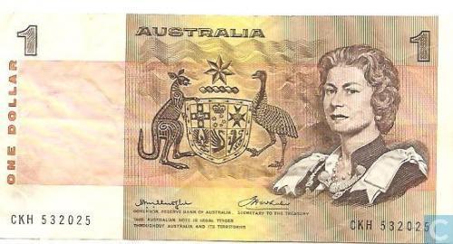 Australia 1 dollar
