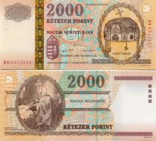 Banknotes; Banknotes; 2000 Ketezer Forint - Hungarian Currency Bank Note