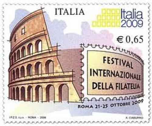Italia 2009 stamp