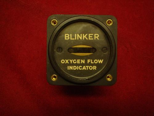 1944 dated aircraft instrument, AN6029-1 Flow Indicator...