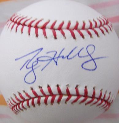 Roy Halladay autographed MLB baseball