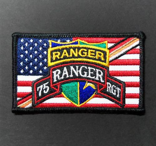 US Army RANGER Tab Scroll Crest Flash Insignia Commemorative Patch