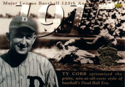 Ty Cobb 1994 Upper Deck All-Star Game jumbo card