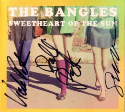 The Bangles autographed Sweetheart of the Sun CD (Susanna Hoffs Debbi & Vicki Peterson)