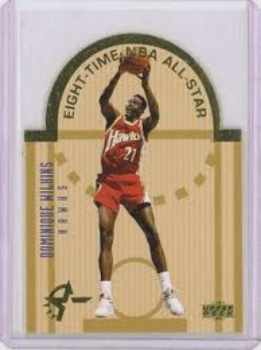 Basketball Card; Dominique Wilkins; HUGE Collection of early-mid 90's Upper Deck