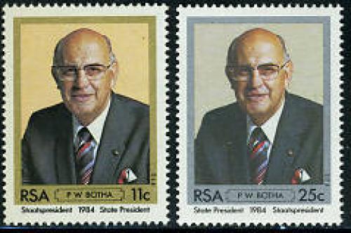 P.W. Botha 2v; Year: 1984