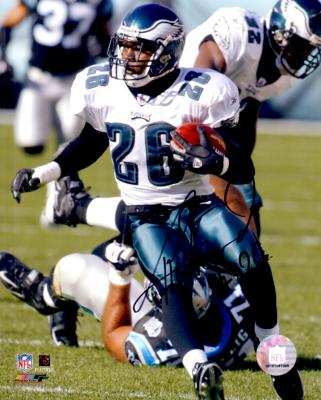 Lito Sheppard autographed Philadelphia Eagles 8x10 photo