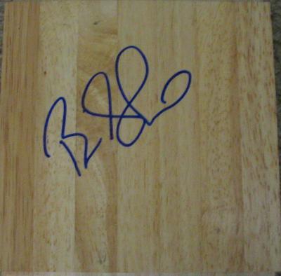 Brian Shaw autographed 6x6 hardwood floor