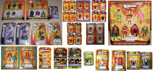 JLU Justice League Unlimited  72 mint in package rare figures Mattel