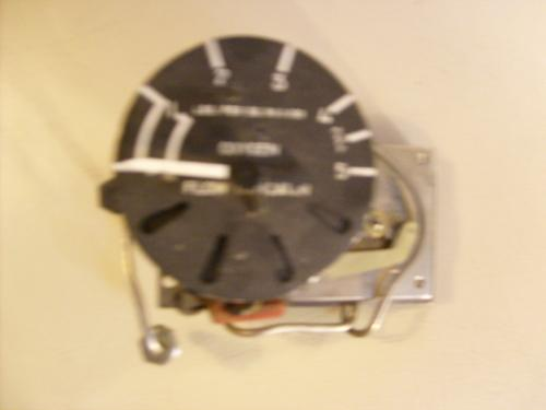 Viet Nam Era Oxygen Gauge and Flow Indicator,1660 00 608 3226