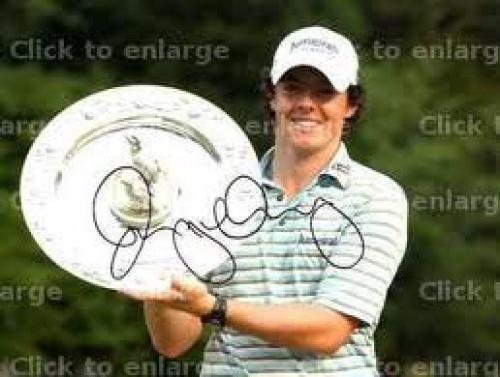 Rory McIlroy memorabilia | Rory McIlroy autographs, golf