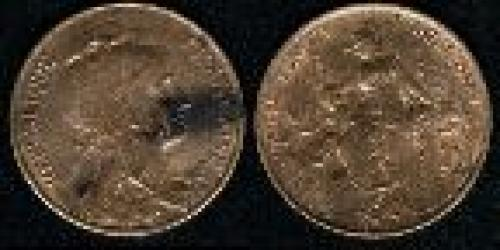 5 centimes; Year: 1898-1921; (km 842)