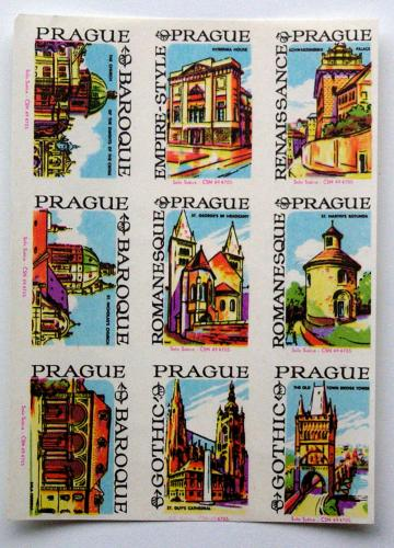Prague - baroque, empire, renaissance, gothic