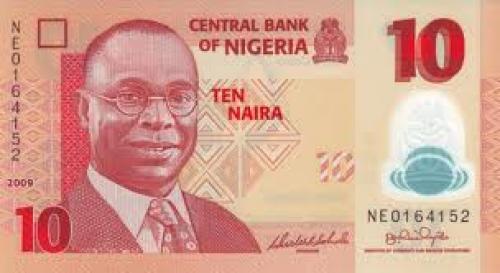 Nigeria Banknotes; 10 Naira
