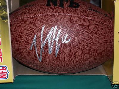 Trent Dilfer autographed Wilson NFL football